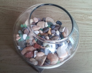 Pebble jar